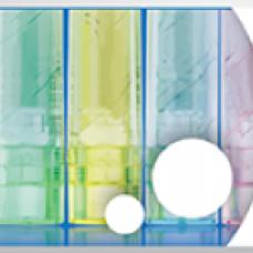 Компактное полотенце в виде уха (пресованное, для ухода за слуховыми аппаратами и вкладышами)